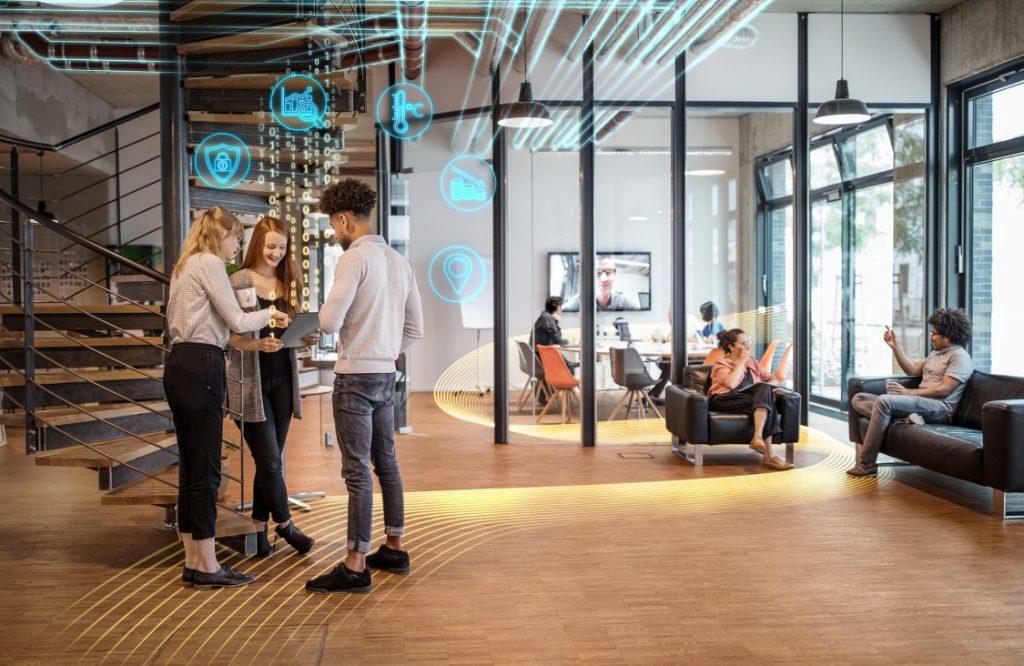 Smart office energy Solution